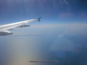 Прошлым летом, вид из самолёта что упал вчера…