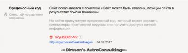 Ахтунг от Яндекса