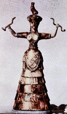 Рис. 12. Богиня с двумя африканскими контурами.