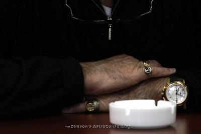 Талисманы и амулеты в формфакторе «гайки» и «котлы» на руках Известного Режиссёра