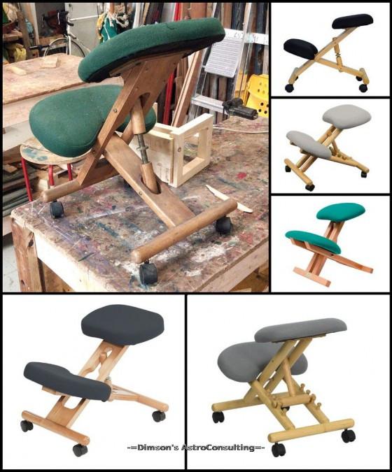 Варианты «стула с коленным упором».