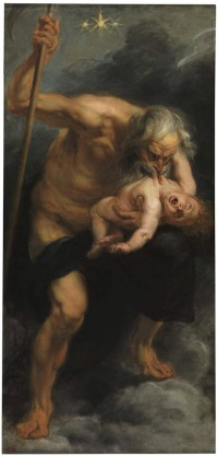 """""""Saturn Devouring His Son"""" by Peter Paul Rubens, 1636."""